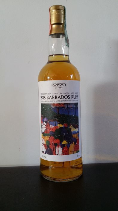 West India Rum Refinery - Barbados Rum - Samaroli - Vintage 1986