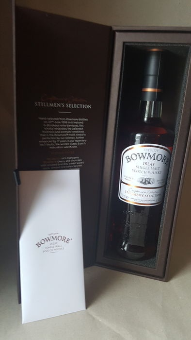 Bowmore 1998 17 years old Stillmen's Selection - Official bottling - 0.7 Ltr
