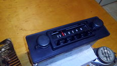 Blaupunkt car radio + Philips Speakers + extendable Antenna years 1975-1977