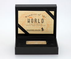 """Wonders of the World"" Limited Edition Silver Ingot, The Taj Mahal of Agra, India."