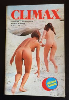 Pornography; Lot of 12 Italian erotic magazines - 1974/1976