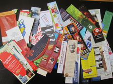 Book objects; A shoe box full of bookmarks - c. 2000 / 2015