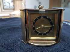 Travel clock in brass case - Vedette - 1940s France