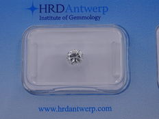 0.59 ct brilliant cut diamond - Exceptional white - SI1