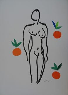 Henri Matisse (after)  - Nu aux oranges