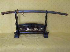 "Authentic Japanese WW2 officer's katana (Type 98) ""Shin Gunto"" Showa period (1943)."
