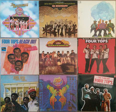 Diana Ross & The Supremes, The Four Tops and The Temptations (seperately and together) incl. some rare ones.