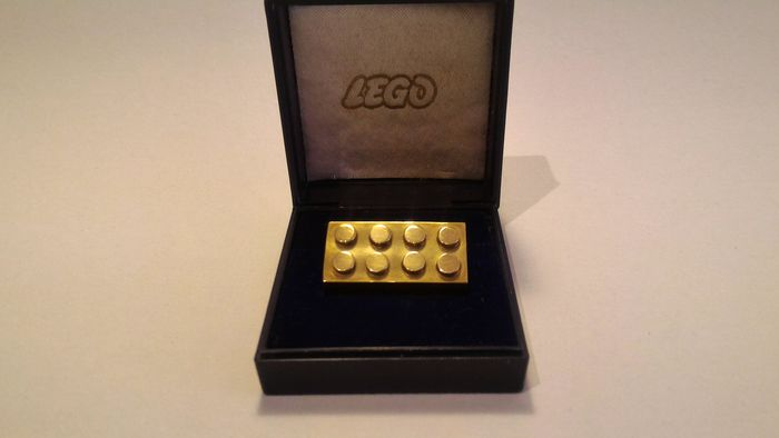 Employee Gift - 14k Solid Gold LEGO Employee Brick