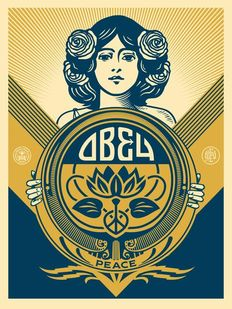 Shepard Fairey (OBEY) - Holiday