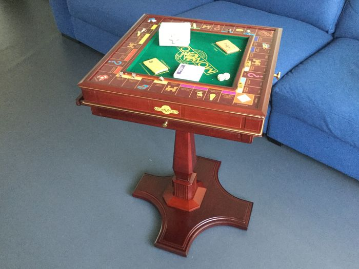 Franklin Mint Game Table Monopoly Board Game Catawiki