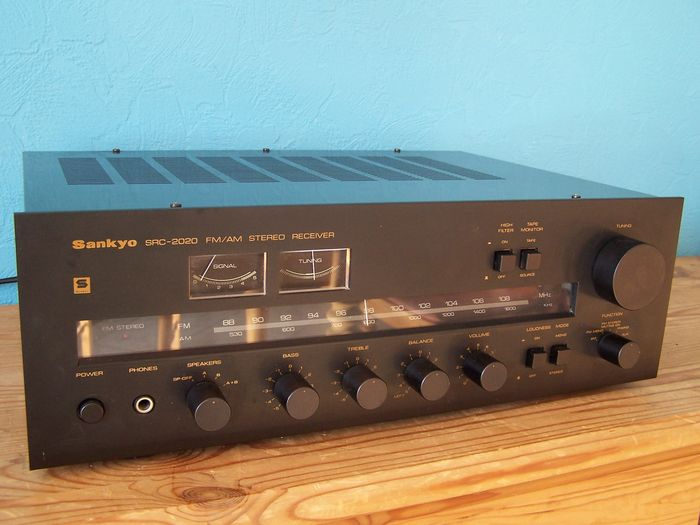 Best High End Receiver 2020 Sankyo SRC 2020 High End HiFi Stereo Receiver, Top Class