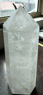 Giant Rock-crystal point of no less than - 340 x 130 x 110 mm - 7.4 kg