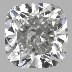 0.55ct Cushion Diamond F SI1 IGI - SEALED-origina image #1471