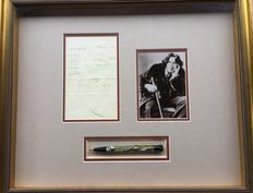 This special Oscar Wilde presentation is a genuine product from Montblanc