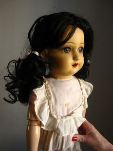 Very large Unica doll - 1920s - Belgium