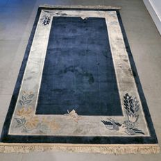 Beautiful 100% silk Chinese carpet – 152 x 95 – great opportunity
