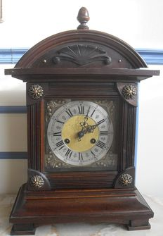 English table clock with original movement – circa 1890–1900