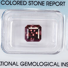 Zircon - brown - 3.87 ct