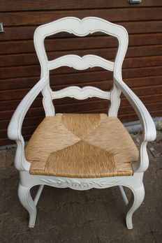 Set of Romance chair and armchair, brand country corner, recent manufacturing