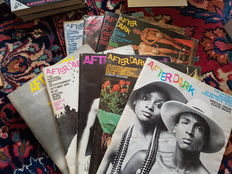 Magazines; 10 editions of After Dark - 1973/1974