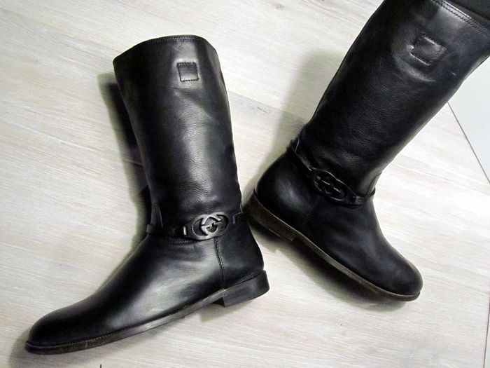 89145944f37 Gucci - leather boots - Catawiki