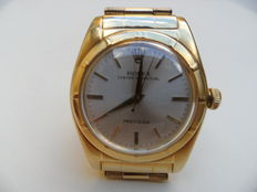 "Rolex – Oyster Perpetual Precision ""bubble back"" men's watch, 1950s"