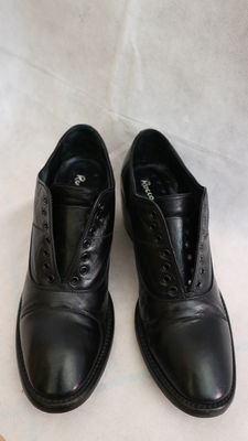 Rocco P - derby with heel, hand made in Italy