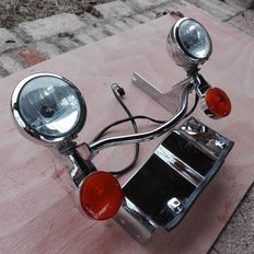 Harley Davidson – Pair of extra headlights – Electra Glide – 2008
