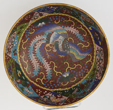 Champlevé bowl - Japan - Late 19th century