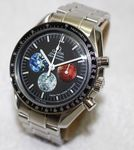 Check out our Omega Speedmaster professional Moon to Mars chronograph - men's watch - 2000's