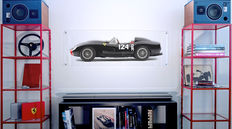 Painting on plexiglass - Ferrari 250 Testarossa