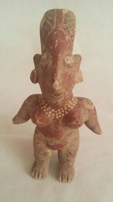 Pre-Columbian earthenware figure from the Jalisco culture – 115 cm