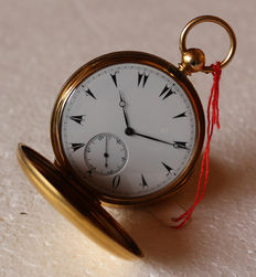 L.Gaebert London Taschenuhr