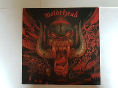 A lot of Heavy Metal items from Motörhead ‎\ Uriah Heep \ Saxon \ Sacred Rite.