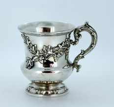 Antique Solid Silver Cup, Made in London 1832, By Edward, Edward junior, John & William Barnard