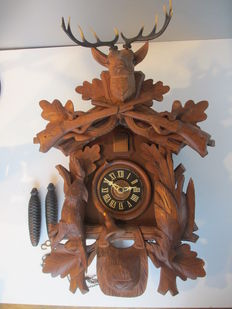 48 cm high cuckoo clock - Germany - 1st half of the 20th century