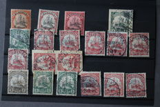 Germany - batch with the old states, colony and signet