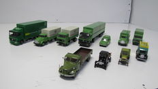 Lion Car - Scale 1/50 - Lot with 11 models: From the series Technische Unie 125 years