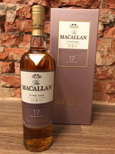 Macallan 17 Year Old Fine Oak Luxury Version