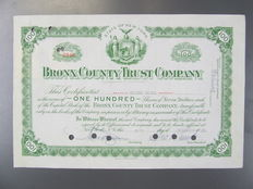 United States - 135 different shares from the 30s to modern age, 1st part of the collection