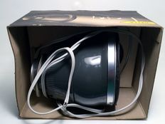 Spotlight - HELLA - Approx. 1980 - Size 10 x 10 x 15 cm - probably 6 Volts