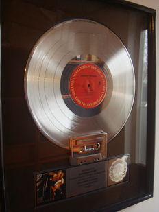Platinum Riaa Award - George Michael - Faith - January 18, 1988