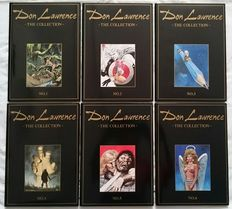 Don Lawrence, the Collection - Complete 13 delige set in verzamelbox. - 13x luxe leren hc + stofomslag - herdruk/1e druk - (1994/2001)