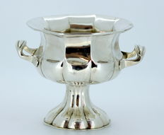 Antique Russian Solid Silver Sugar Bowl, Made in Russia 1876