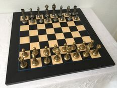 Exclusive Italian high quality chess set by Italfama