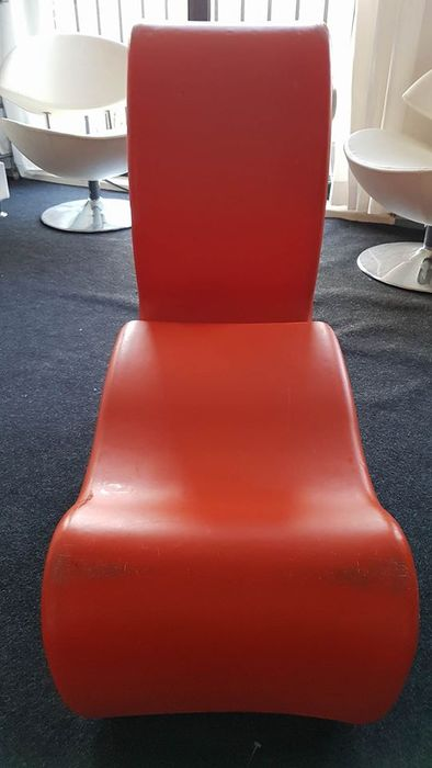 Verner panton for innovation randers phantom chair catawiki - Verner panton phantom chair ...
