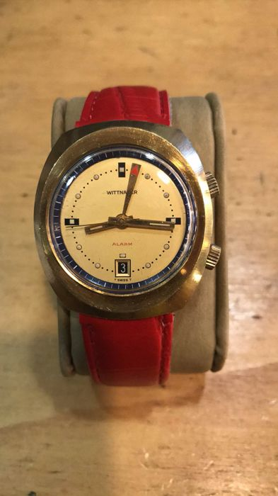 "Wittnauer ""Svegliarino"" – Men's watch – 1960s"