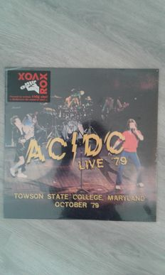 Lot of 3 x AC/DC, AC/DC  ‎– Live '79, Towson State College, Maryland , AC/DC  ‎– Live In Nashville, August 8th 1978, AC/DC  ‎– Happy New Year (December 1974)
