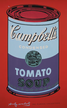 Andy Warhol (After) - Campbell's Tomato Soup