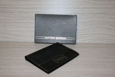 Ferrari Formula - black leather wallet